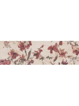CREMA ROYALE Beige Flower Decor 30x60